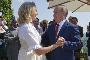 Vrchol Kneisslovej kariéry - svadobný tanec s Putinom.