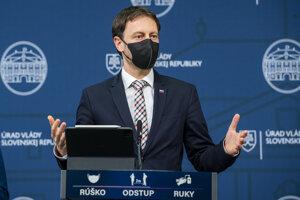 Minister financií a dočasný minister zdravotníctva Eduard Heger.