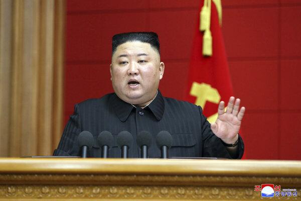 Severokórejský vodca Kim Čong-un.