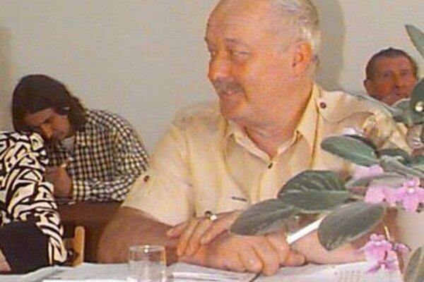 Jozef Feňuš ako veľkošarišský poslanec.