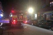 Oheň horel v bytovke na Radlinského ulici.