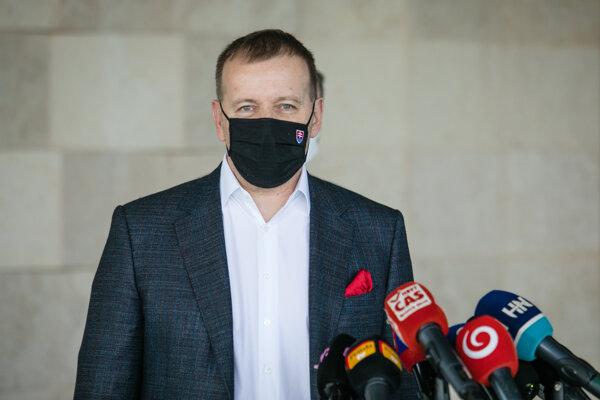 Predseda Sme rodina Boris Kollár.