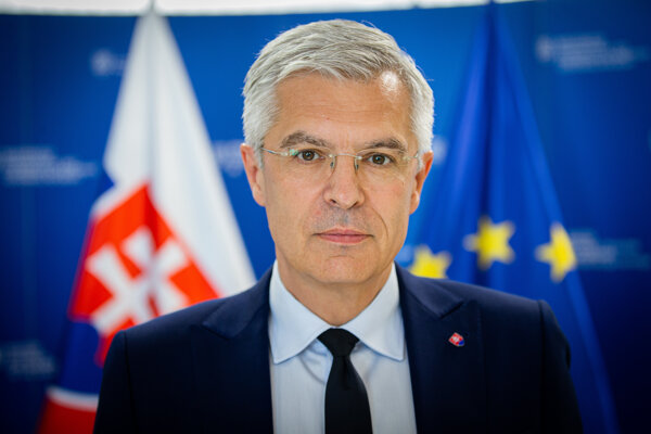 Minister zahraničných vecí a európskych záležitostí SR Ivan Korčok (nom. SaS)
