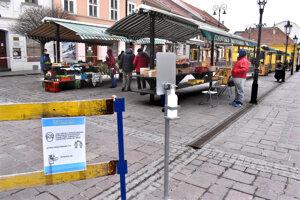Trh na Dominikánskom námestí.