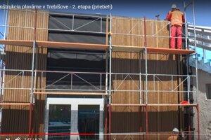 Počas externej rekonštrukcie plavárne bola opravená strecha, obvodový plášť, vymenené okná.