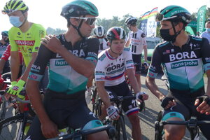 Juraj Sagan s tímom Bora-Hansgrohe.
