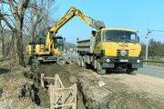 Výstavba kanalizácie