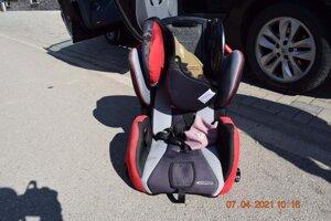 Dieťa v tejto sedačke vypadlo z idúceho auta.