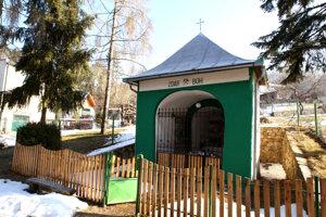 Banícka kaplnka v Novej Bani.