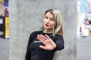 Jasmína Houdek, inštruktorka sebaobrany pre ženy