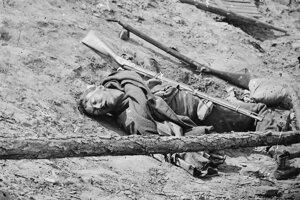 Vďaka novinárom a fotografom spoznával celý svet hrôzy totálnej vojny, k známym záberom patrí i fotografia padlého južanského vojaka na jar 1865 pri Petersburgu.