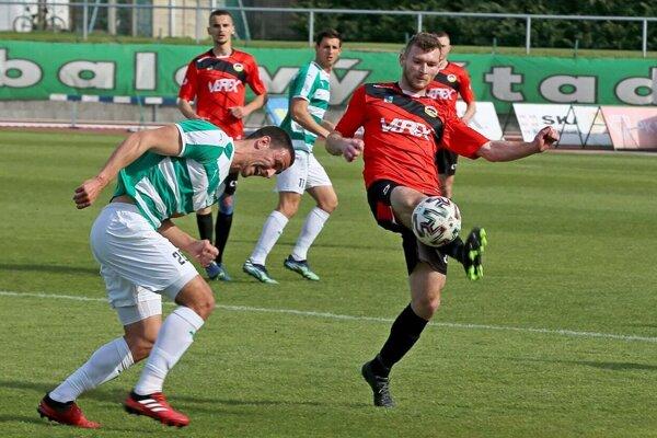 Tatran proti domácej Skalici v zelenom neskóroval a prehral 3:0.