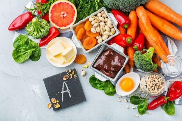 Potraviny bohaté na vitamín A