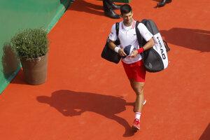 Novak Djokovič prehral v osemfinále turnaja v Monte Carle.