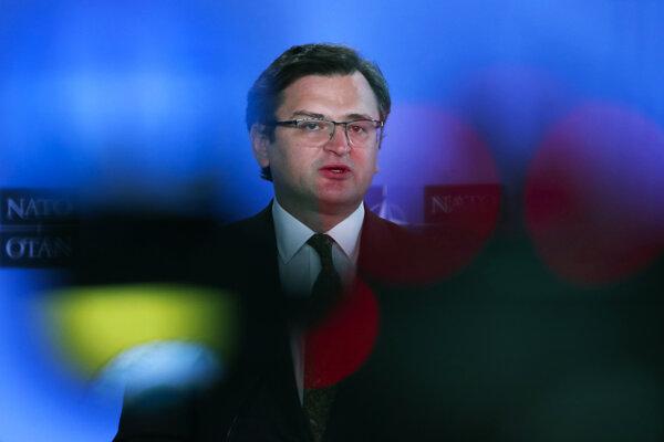Minister zahraničných vecí Ukrajiny Dmytro Kuleba.