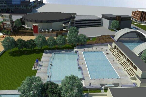 Mesto plánuje premenu športovísk na tri etapy.