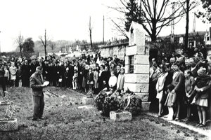 Spomienka na oslobodenie obce – 70. roky