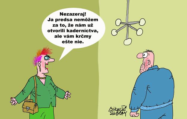 Karikatúra - 21.4.2021