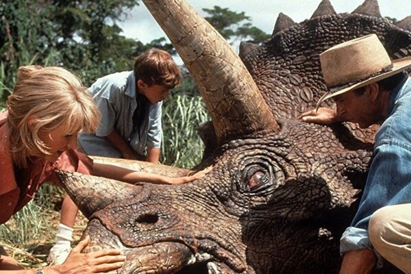Jurský park od Stevena Spielberga z roku 1993 je medzi klasikou Netflixu