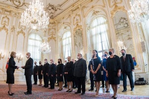 Prezidentka vymenovala nových vysokoškolských profesorov.