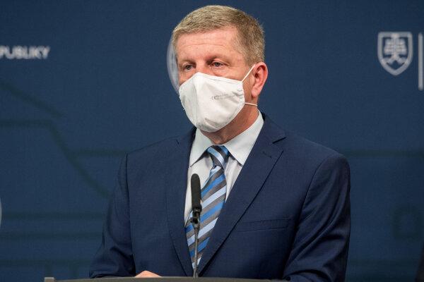 Minister zdravotníctva Vladimír Lengvarský.