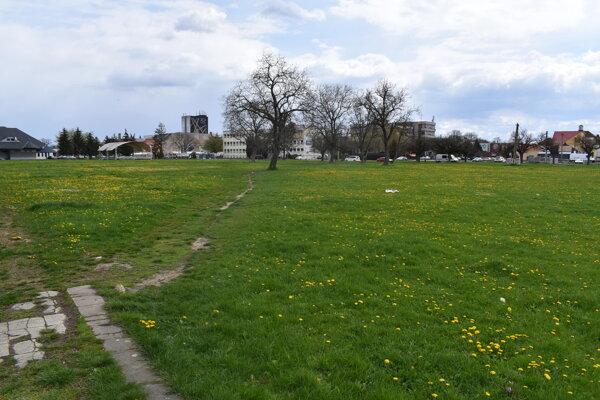 Park študentov v Michalovciach.