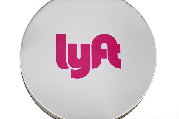 Logo spoločnosti Lyft.