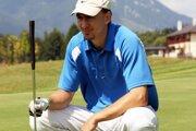 Miro Šatan je veľkým fanúšikom golfu.