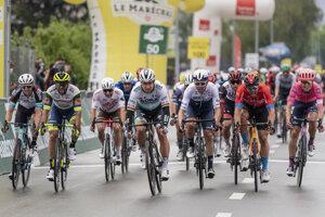 Peter Sagan vyhral 1. etapu na pretekoch  Okolo Romandie.