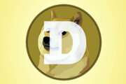Logo kryptomeny dogecoin.