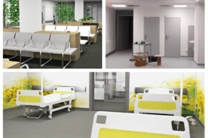V levickej nemocnici finišujú s prácami na novom urgentnom príjme.