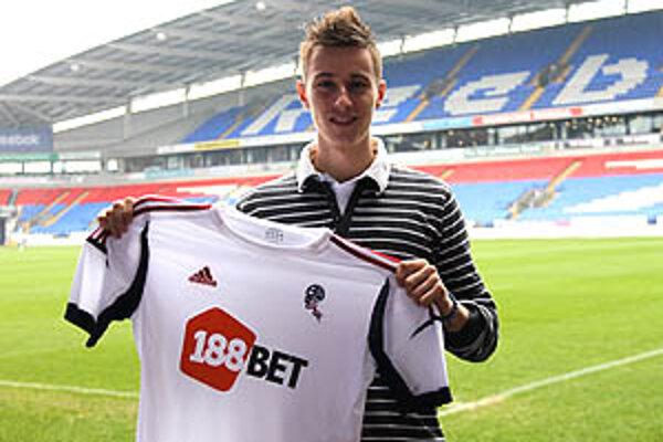 Ján Greguš sa stal hráčom Boltonu. Skauti anglického klubu si ho všimli v reprezentácii SR do 21 rokov.