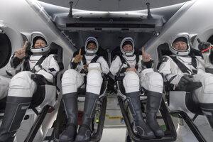 Skupina astronautov pristála v Mexickom zálive.
