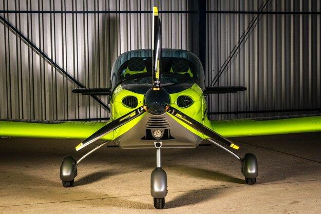 Lietadlo Viper SD4 prešovskej spoločnosti Tomark Aero