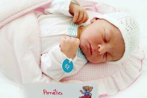 Amélia Mitašová z Nitrianskeho Rudna sa narodila 5.5.2021 v Bojniciach