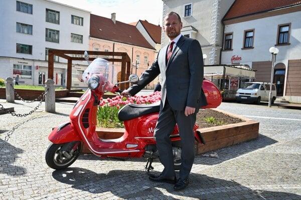 Kandidát na primátora mesta Trnava Marián Galbavý