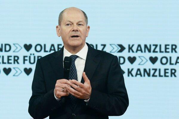 Olaf Scholz.
