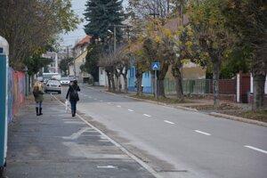 Zjednosmernenie čaká i ulicu P. Adámiho v smere od ulice Streďanskej k ulici Stummerovej.