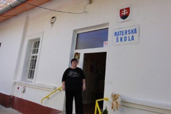 Riaditeľka škôlky na Parkovej Zuzana Šalingová.