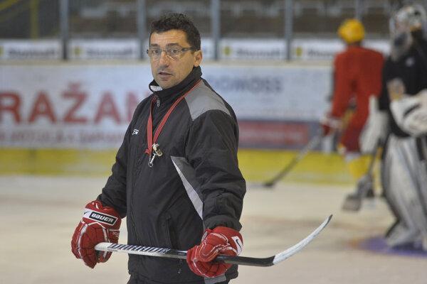 Tréner Róbert Kaláber.