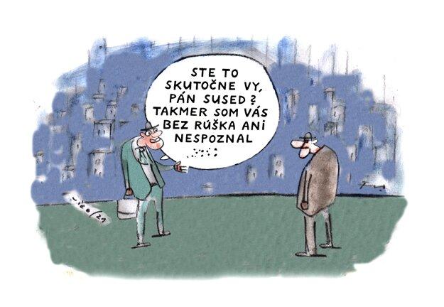 Karikatúra - 14.5.2021.