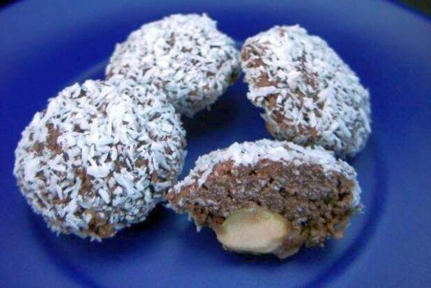 Čokoládovo-kokosové koláčiky