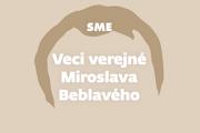 Veci verejné Miroslava Beblavého.