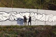 Murál Ruky