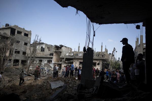 Konflikt medzi Palestínou a Izraelom pokračuje.