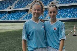 Nina Korimová (vľavo).