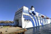 Trajekt GNV Azzurra slúži na ostrove Lampedusa aj ako testovacie centrum na koronavírus.