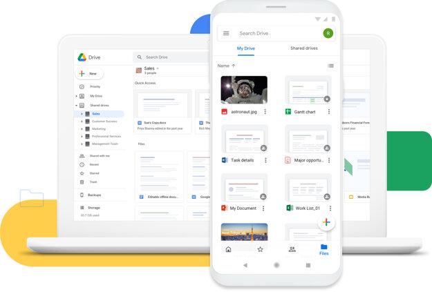 Cloudové úložisko Disk Google