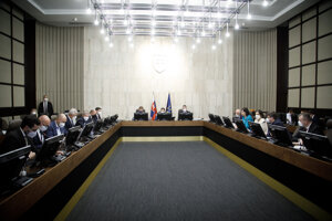 Zasadnutie vlády.