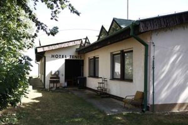 Hotel Tenis na Ďumbierskej ulici.
